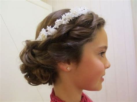 peinados para ninas de primera communion 272 best images about comunion on pinterest tulle dress