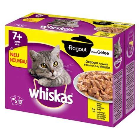 Whiskas 85 Gram multipack whiskas ragout 48 x 85 g g 252 nstig bei zooplus
