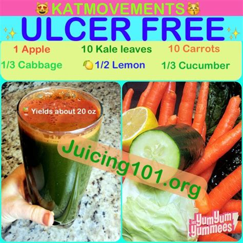Cabbage Juice Detox Diet by Juicing Vegetables Fruit Ulcer Free Juice Recipe