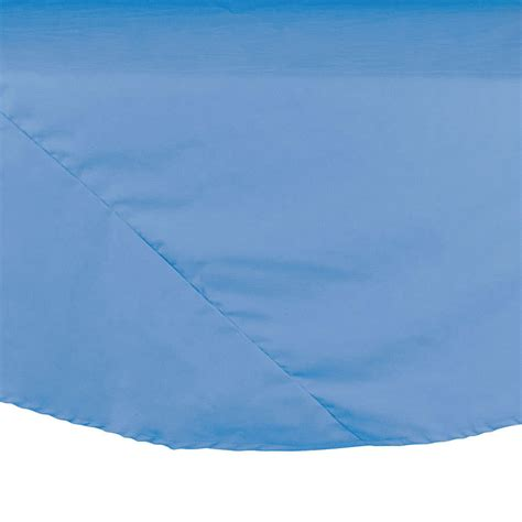 Cloth Covers 120 Quot Light Blue 100 Polyester Hemmed Cloth Table Cover