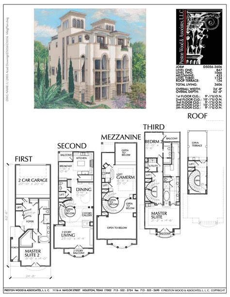 town home plans duplex townhouse plans