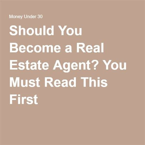 should i become a realtor 8 best images about future plans on pinterest real