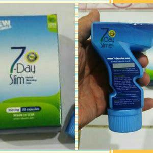 7 Day Slim 7day Slim Pelangsingobat Diet Kemasan Baru Botol Angka 7 7 day slim kemasan baru obat pelangsing efektif