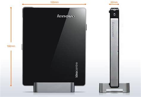 smallest computer desk lenovo claim world s smallest desktop pc with ideacentre