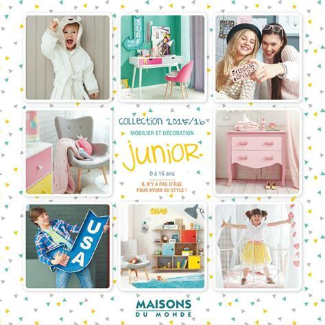 Maisons Du Monde Catalogue 2015 by Nouveau Le Catalogue Junior Maisons Du Monde 2015