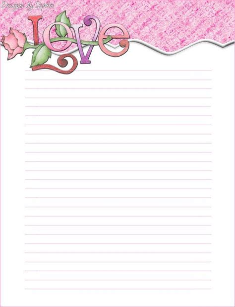 printable stationary download free printable lined stationary free download