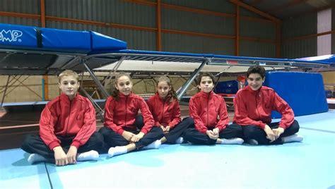 club ximnasia pavillon cinco gimnastas ourensanos al car de san cugat deporte