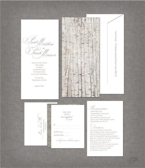 birch tree wedding invitations birch tree wedding invitations rustic wedding chic