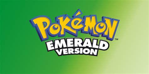 pokemon emerald version game boy advance games nintendo