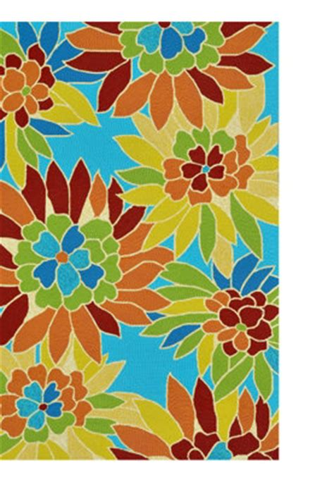 Floral Bright Outdoor Rug Rugs And Doormats Pinterest Bright Outdoor Rugs