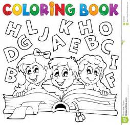 coloring books for toddlers coloring book theme 5 royalty free stock photo