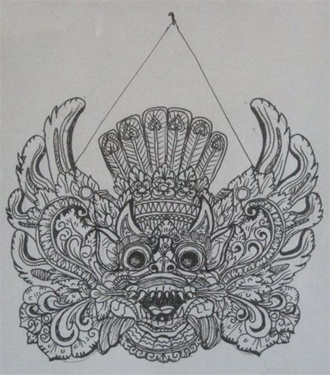 design grafis bali 302 best images about balinese barong on pinterest