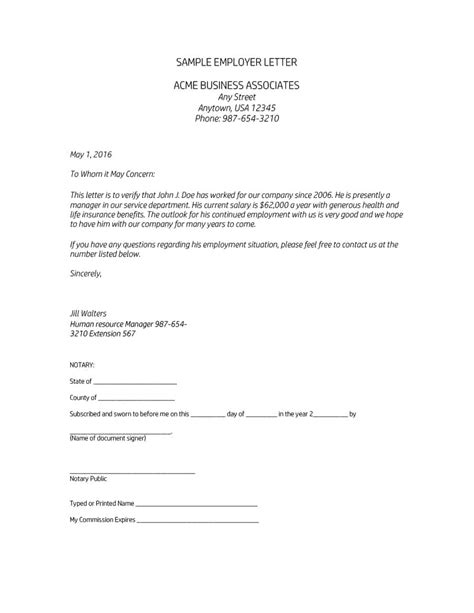 40 Income Verification Letter Sles Proof Of Income Letters Income Verification Letter Template