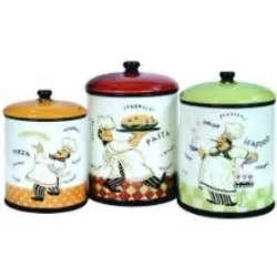 Italian Kitchen Canisters by 3