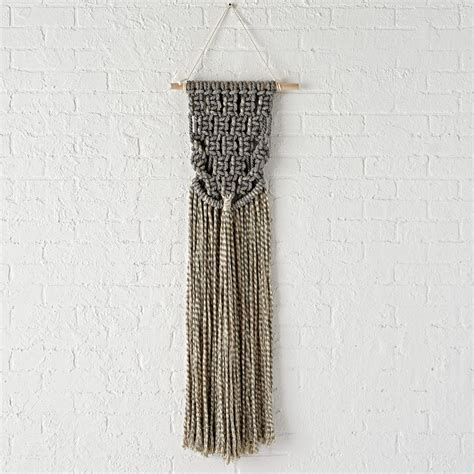 Macrame Weaving - wall hangings the land of nod