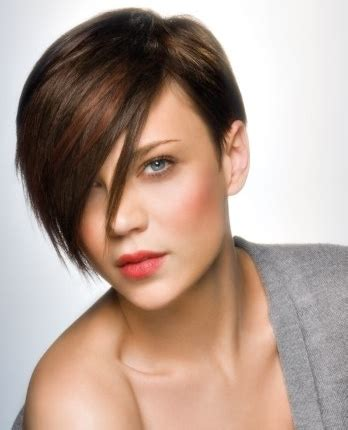 short haircuts long bangs short hairstyles and short haircuts guide