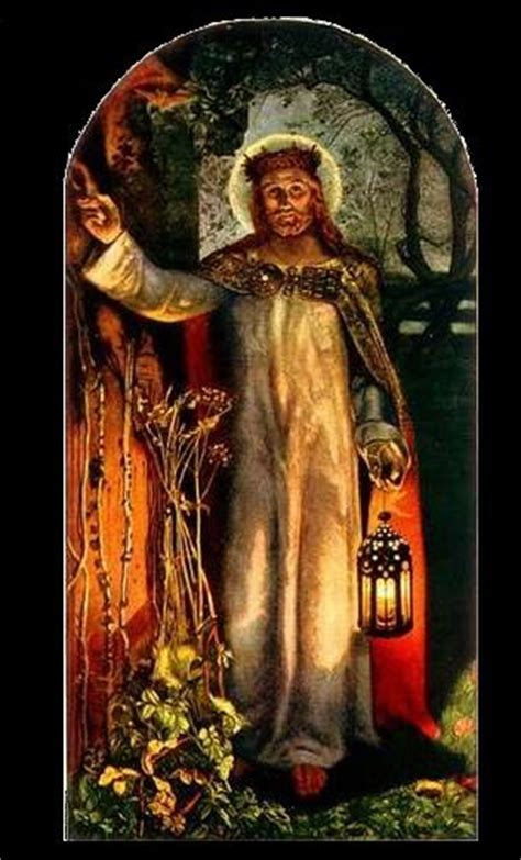 william holman hunt the light of the world the light of the world detail c 1900 1904 in st paul