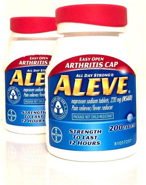 bettdecke 220 x 220 aleve 220 mg naproxen sodium 2 x 200 tablets 400 total