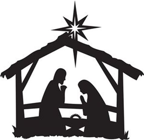nativity silhouette template nativity silhouettes silhouettes