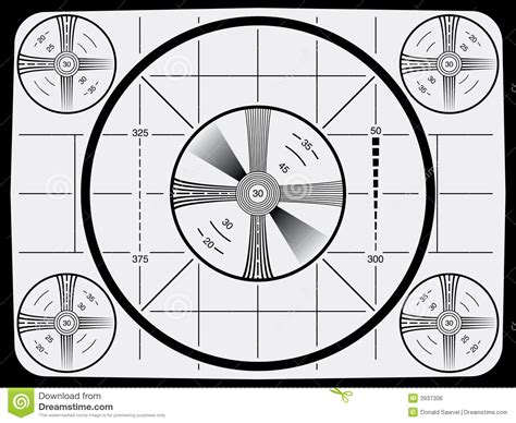 pattern test copyright television test pattern stock vector image of circle