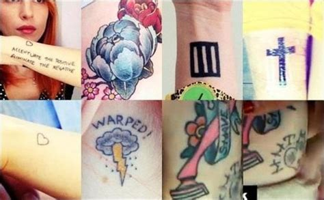 hayley williams tattoos paramore animals amp people