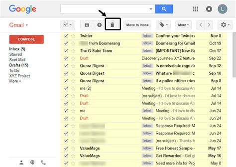 how to delete all emails from mail in how to permanently mass delete all emails in gmail quickly