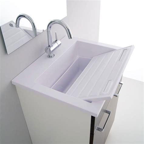 rubinetti per lavatoio lavatoio e mobile 60x50 zeus arredo lavanderia jo bagno it