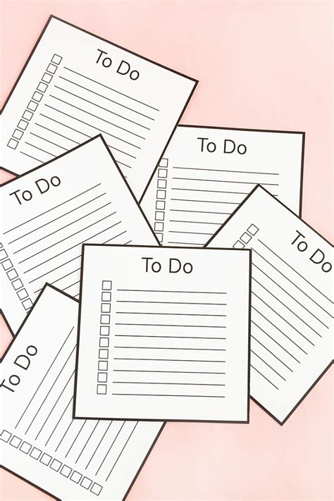 make your own printable to do list diy to do list cardsmaritza lisa