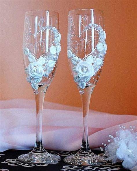 Bicchieri Decorati Bicchieri Personalizzati Originali Per Il Brindisi