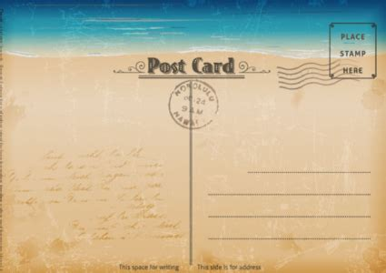strathmore post cards templates 20 free printable postcard templates xdesigns