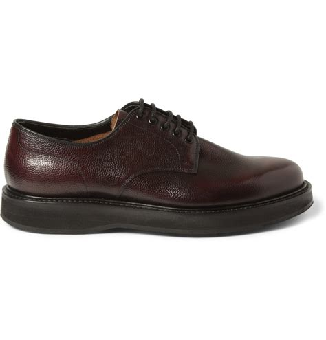 church shoes church s leyton pebble grain leather derby shoes in