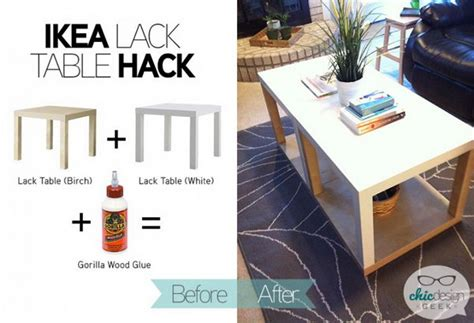 ikea table top hack 20 creative ikea lack table hacks 2017