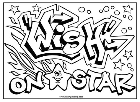 omg another graffiti coloring book of room signs learn