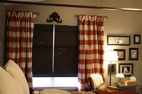 half rods for curtains ideas for install half curtain rods the homy design
