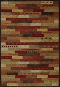 Arts And Crafts Area Rugs Arts And Crafts Mission Autumn Lake Area Rug