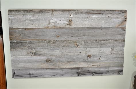 rustic wooden headboard reclaimed wood headboard diy installation made from real