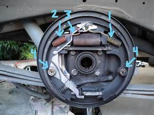 97 chevy blazer rear drum brake issues grabbing