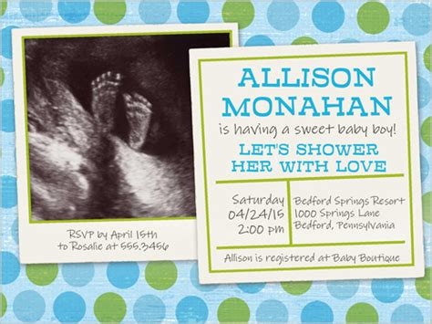 Sonogram Baby Shower Invitations by Ultrasound Photo Baby Boy Shower Invite Omg Photos