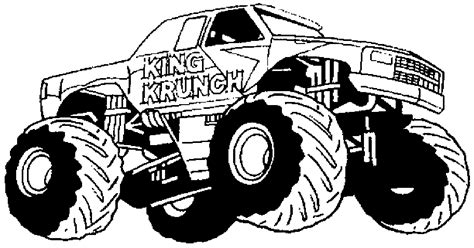 free monster truck videos free coloring pages of monster jam monster truck