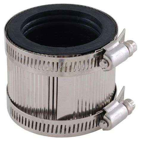 Fpt Plumbing by Ldr Industries 4 In X 4 In Pvc Fpt X Fpt No Hub Coupling