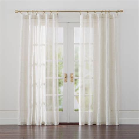 Sale Dkny Sofa Green Termurah linen sheer curtains crate and barrel