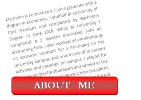 Mba Tips Tell Me About Yourself by Questions Tips Tell Me About Yourself