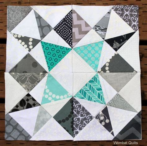 How To Make A Paper Quilt - paper pieced quilt block quilty inspiration