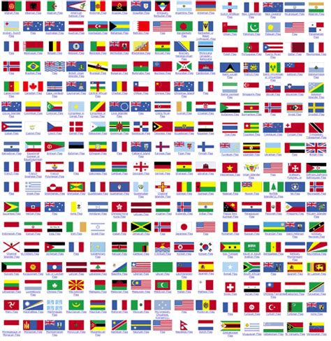 all flags of the world printable world flags images