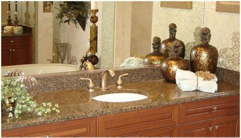 Kitchen Design With Tiles Tropic Brown Granite Countertop Tropic Brown