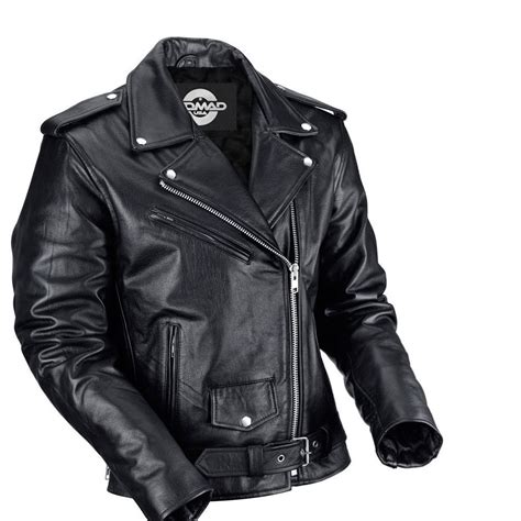 mc jacket nomad usa classic leather biker jacket for men