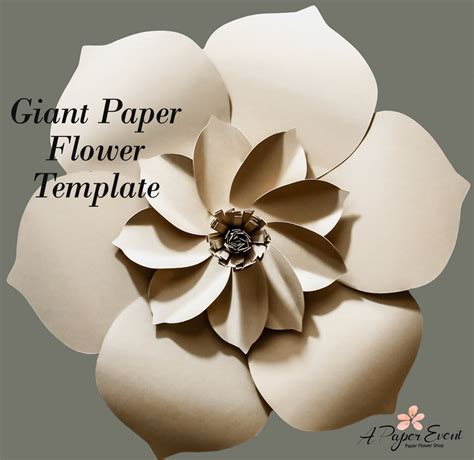 diy flower template paper flower template diy paper flower diy backdrop paper
