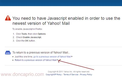 change yahoo mail layout to classic how to switch back to old yahoo mail classic geek ng