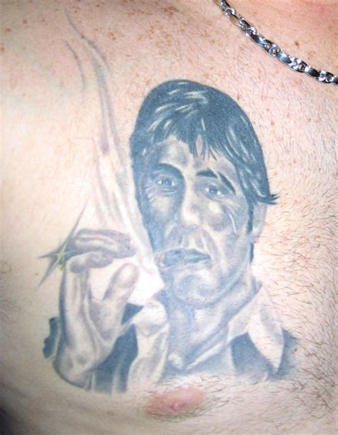 montana tattoo tony montana scarface picture