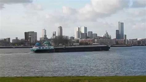 schepen in rotterdam schepen op de maas in rotterdam ships in rotterdam youtube